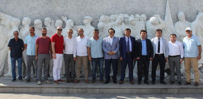 Havza'da Turizm Alanları SAMTİAD'a Tanıtıldı