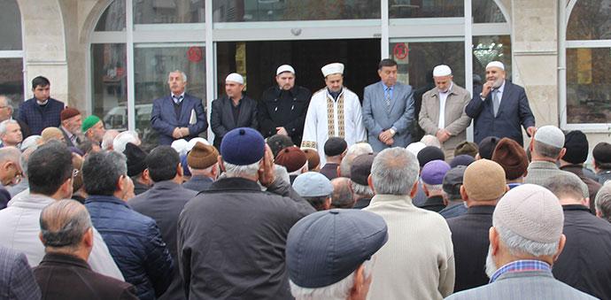 Havza'da Umre Kafilesi Yolcu Edildi