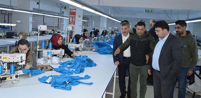 Havza'da Yeni Tekstil Atölyesi Faaliyete Açıldı