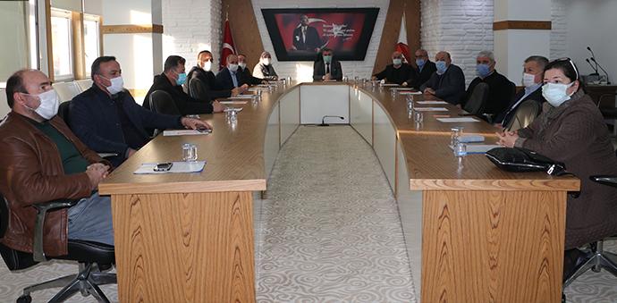 Havza'da Yılın İlk Belediye Meclis Toplantısı