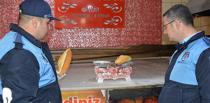 Havza'daki Ekmekler Gramajın Üstünde Çıktı