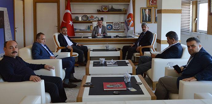 İbrahim Sadık Edis'ten Başkan Özdemir'e Ziyaret