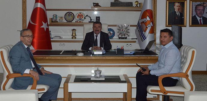 İl Emniyet Müdürü Vedat Yavuz'dan Havza'ya Ziyaret