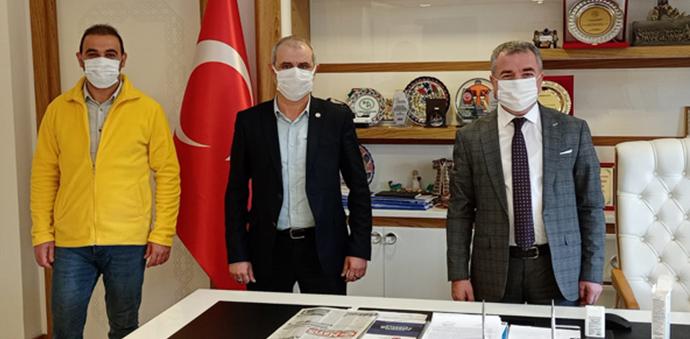 İlk Parti'den Başkan Özdemir'e Ziyaret