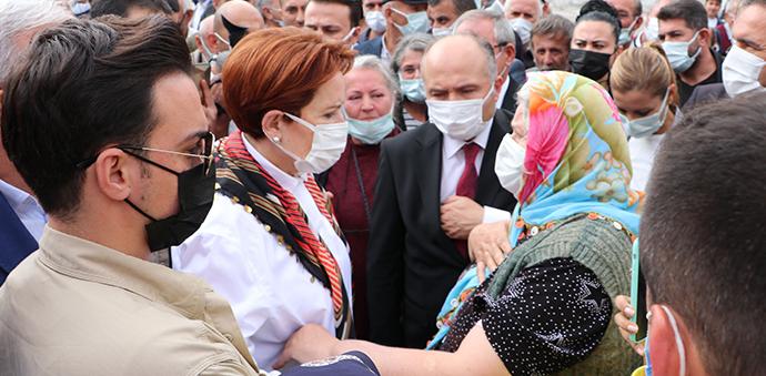 İYİ Parti Genel Başkanı Akşener'den Havza Ziyareti