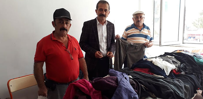 İYİ Parti Havza Teşkilatından İhtiyaç Sahiplerine Kıyafet Yardımı