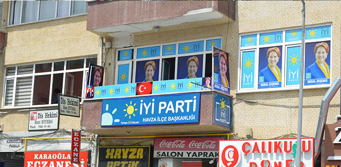 İYİ Parti İlçe Başkanlığı Yeni Binasına Taşındı