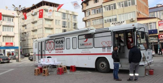 Kan Bağışında 69 Ünite Kan Toplandı