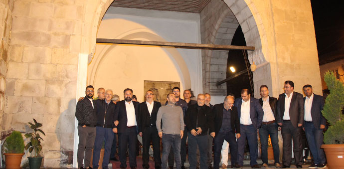 Karadeniz Un Sanayicileri Derneği Üyeleri Havza'da