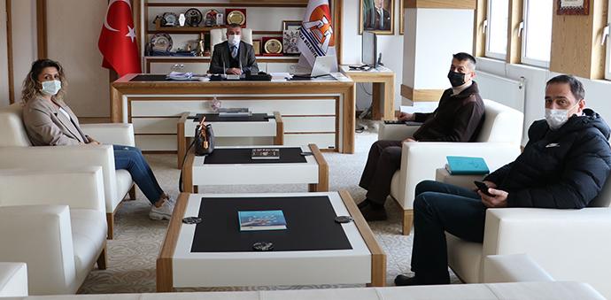 Karayolları 7. Bölge Müdürü Silov, Havza'yı Ziyaret Etti