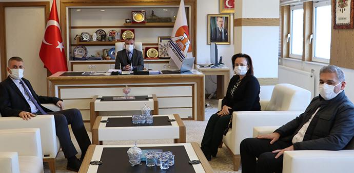 Karayolları 7. Bölge Müdürü Silov'dan Başkan Özdemir'e Ziyaret