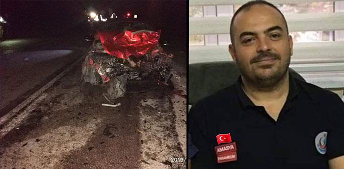 Kazada Hayatını Kaybeden 112 Acil Paramedik Görevlisi Toprağa Verildi