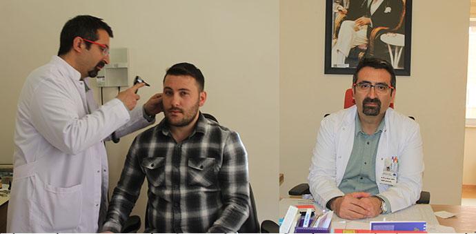 KBB Uzman Opr. Dr. Erkan Can Göreve Başladı