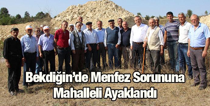 Kemal Zeybek, Bekdiğin Halkının Sorununa Destek Verdi