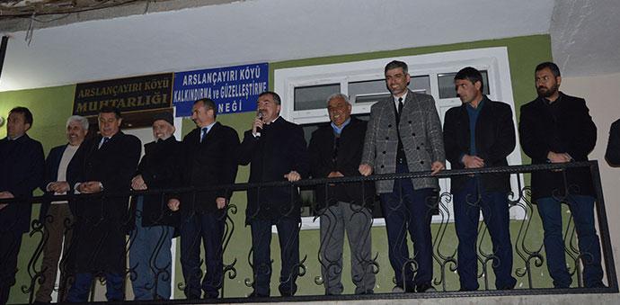 Kırcalı'dan Başkan Adayı Özdemir'e Destek