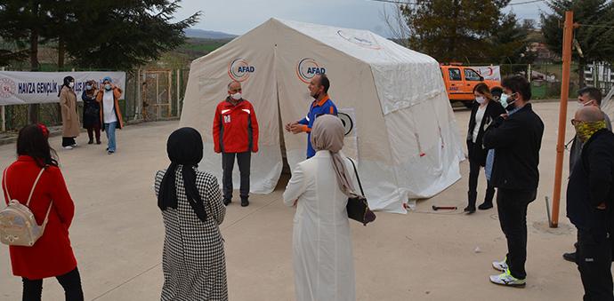 Kızılay Gönüllü Afet Ekibi Kuruyor Projesi Başladı