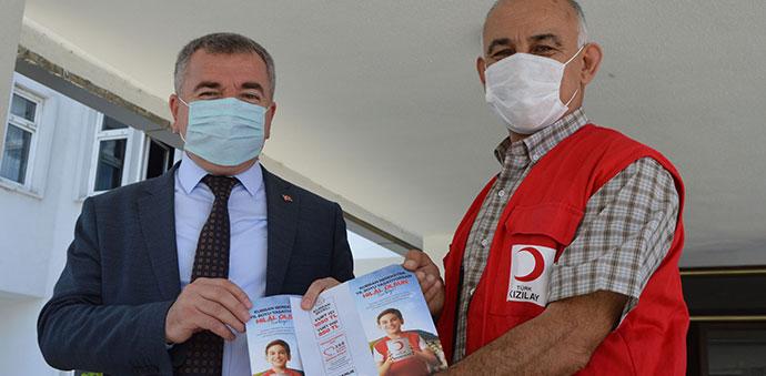 Kızılay Havza Temsilciliğinden Başkan Özdemir'e Ziyaret