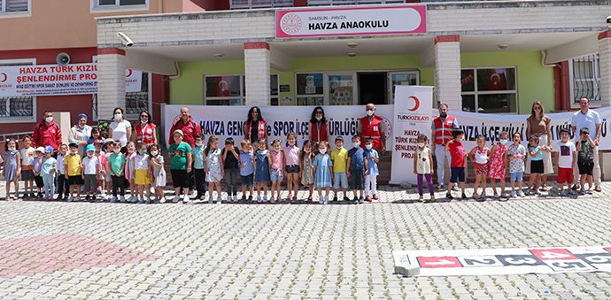 Kızılay Şenlendirme Projesi Kapsamında Okul Öncesi Öğrencileri Unutulmadı