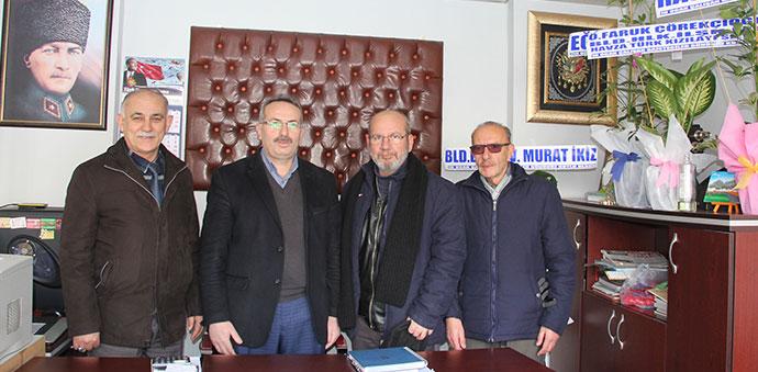 Kızılay'dan Gazetemize Ziyaret