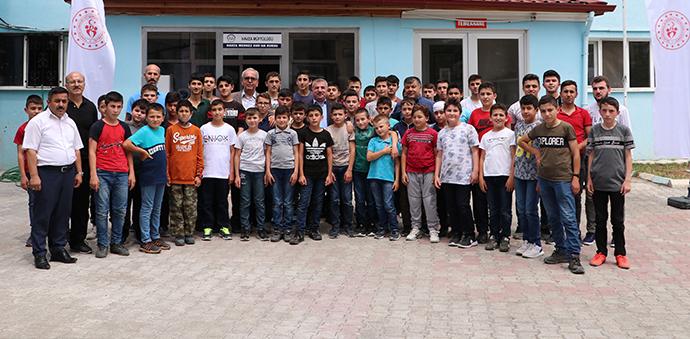 Kur'an Kursu Öğrencilerine Yönelik Sportif Aktivite