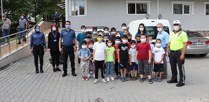 Kur'an Kursu Öğrencilerine Uygulamalı Trafik Eğitimi