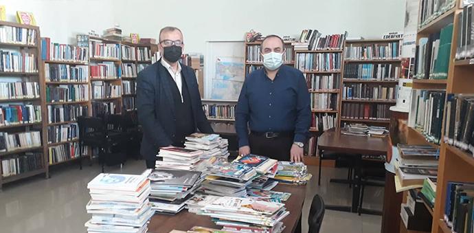 Kütüphane Haftasında Yeni Kitaplar Yerini Aldı