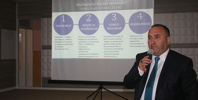 Makbule YBO'da Müfredat Değişikliği Tanıtıldı