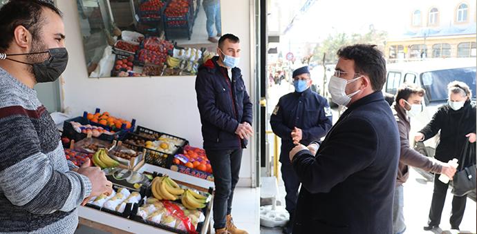 Market, Manav Ve Büfelerin Denetimi Yapıldı