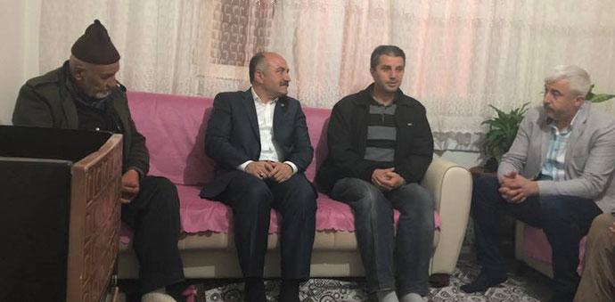 MHP Grup Başkanvekili Erhan Usta Taziye Ziyaretinde