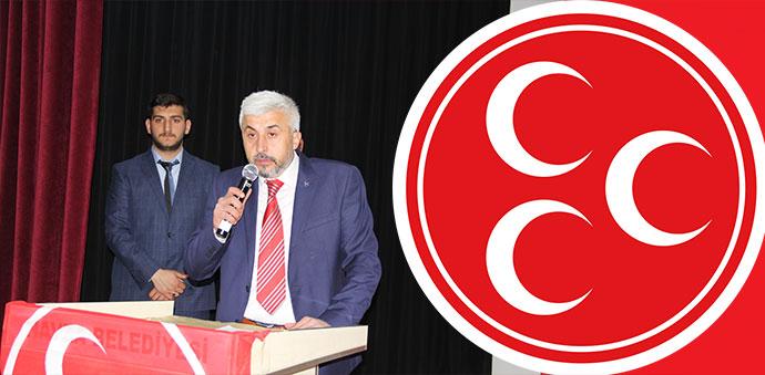 MHP İlçe Başkanı Uğur Yıldırım'dan Basın Açıklaması