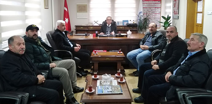 MHP İlçe Teşkilatından Havza Müftülüğüne Ziyaret