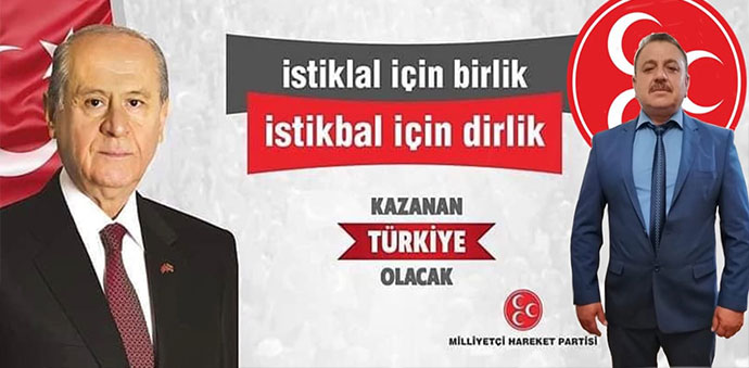 MHP'de Ferhat Gültekin İlçe Başkanlığına Tek Aday