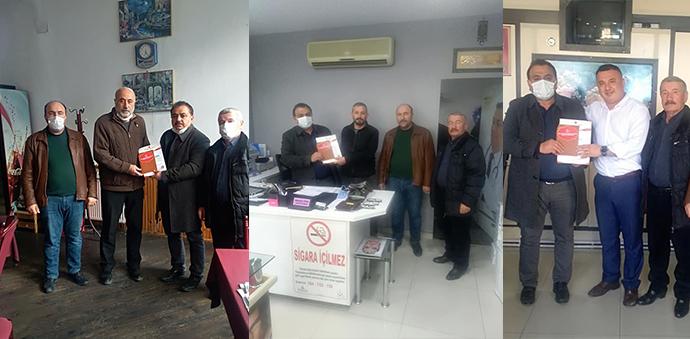 Milliyetçi Hareket Partisinden Muhtarlara Ziyaret