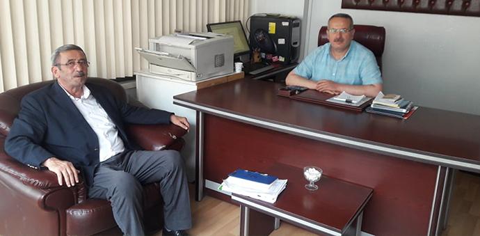 Mustafa Saatcı'dan Gazetemize Ziyaret