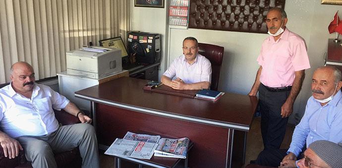 Olimpiyat Şampiyonu Mahmut Demir Gazetemizi Ziyaret Etti