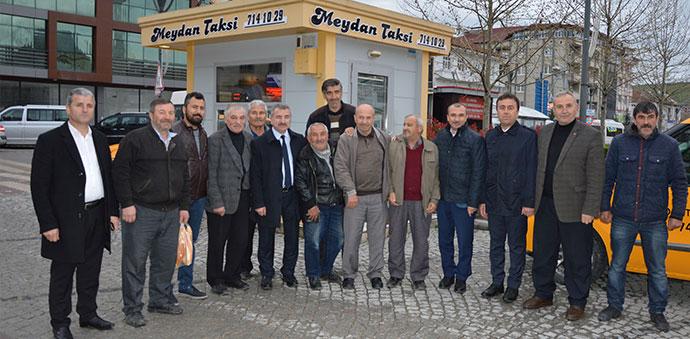 Orhan Kırcalı ve Başkan Özdemir'den Esnaf Ziyareti
