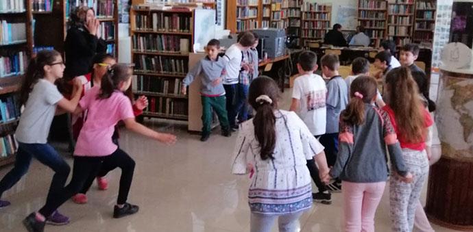 Oyun Kütüphanede Etkinliği Düzenlendi