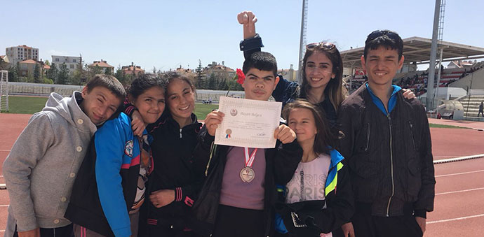 Özel Öğrencimiz Türkiye Dördüncüsü Oldu