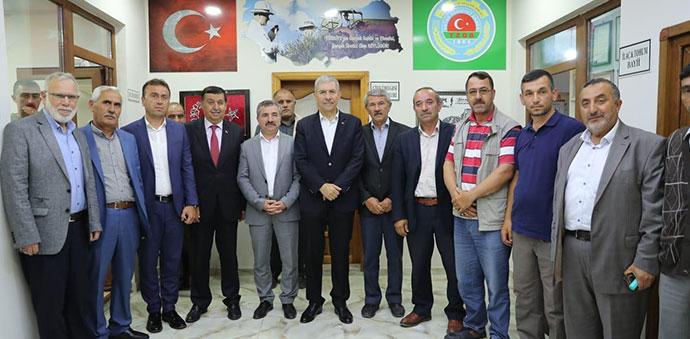 Sağlık Bakanı Ahmet Demircan Havza'da