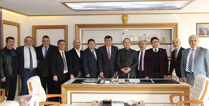 SAMKON Havza Belediyesini Ziyaret Etti