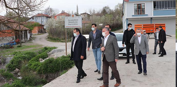 Samsun Büyükşehir Belediye Başkanı Demir Havza'da Tamamlanan Yolları İnceledi