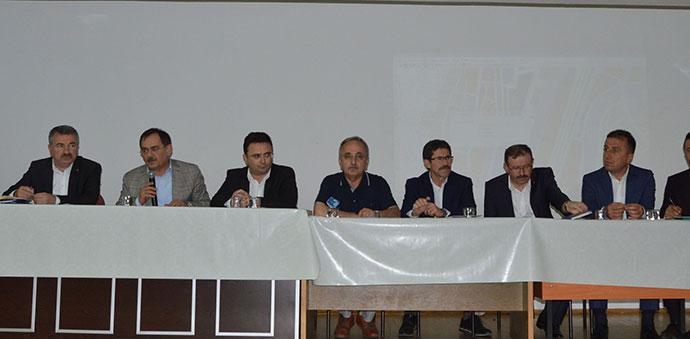 Samsun Büyükşehir Belediyesinden Muhtarlarla İstişare Toplantısı