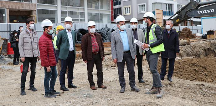 Samsun Büyükşehir Belediye Başkanı Demir Havza Ziyareti