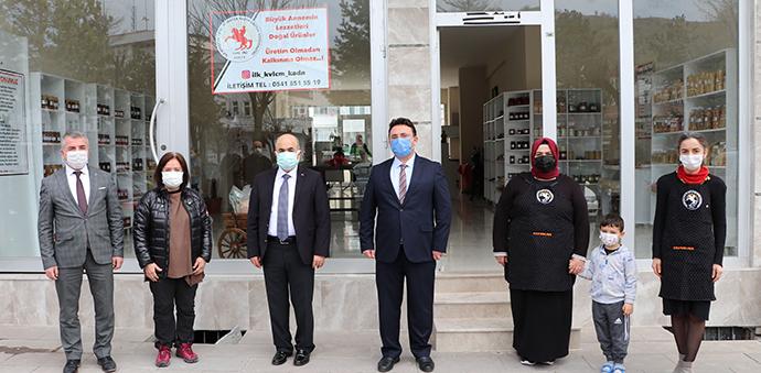 Samsun Valisi Dağlı Havza'da Değerlendirme Toplantısına Katıldı