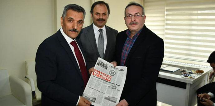 Samsun Valisi Kaymak, Gazete Temsilcileriyle Bir Araya Geldi