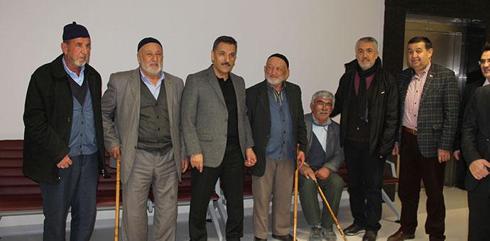Samsun Valisi Osman Kaymak Havza Fizik Tedavi Merkezini Gezdi