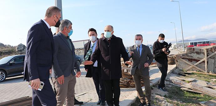 Samsun Valisi Zülkif Dağlı Havza OSB'Yi Ziyaret Etti