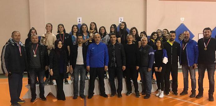 Samsun'da Dart Şampiyonasında Havza Rüzgarı Esti