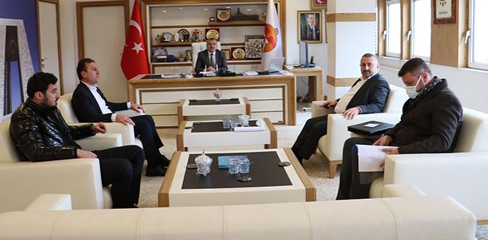 SASKİ Genel Müdürü Yanık'tan Başkan Özdemir'e Ziyaret