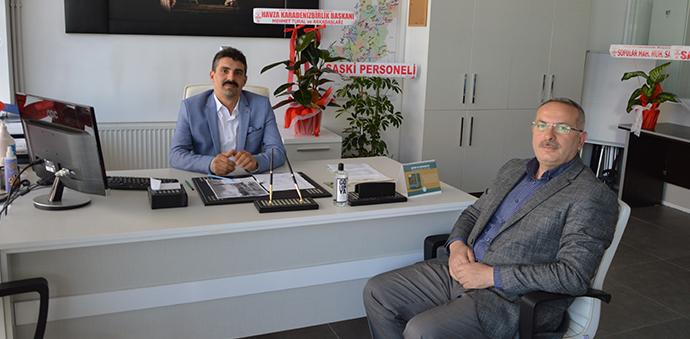 SASKİ Havza Şubesi Müdürlüğüne Mustafa Arslan Atandı